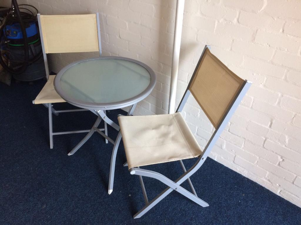 garden table and two chairs - Garden Furniture Kidderminster