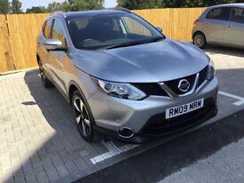 Nissan Qashqai 1.2 Petrol N-Connecta DIG-T CVT Silver Colour