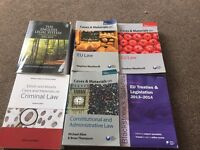 Law books Eu law, criminal law, constitutional and Administrative Law