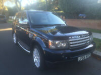 2006 Land Rover Range Rover Sport Left Hand Drive Supercharged