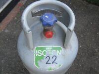ISCEON 22 Air Con Gas Refrigerant Gas 11.1kg Bottle - 1/2 Full