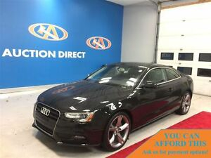 2014 Audi A5 Komfort, AWD, LEATHER, HEATED SEATS, BLUETOOTH, FI