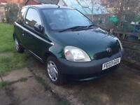 Toyota Yaris 1.0 only 40k miles full mot