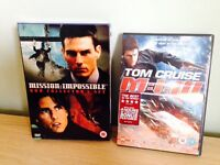 Mission Impossible 1-3 DVDs