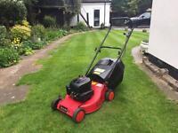 """Champion R484 18"""" cut lawn mower"""