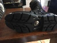 New rock boots size 43