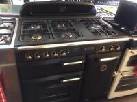 Black leisure 90cm LPG gas cooker grill & oven good condition with guarantee bargain