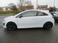 63 reg corsa limited edition TOP OF THE RANGE low mileage, cat d