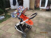 Cossato Giggle pram and complete travel system