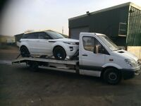 East London Cheap Car Breakdown Recovery Services, Cars, Vans, Motorbikes and Jump Start Tow Truck