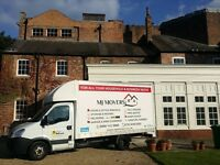 Fully Insured Man with Van Service, House Removals in Derby, One two or three man team in each Van