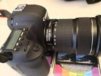 Canon EOS 6D for Sale with 24-105mm and 50mm lenses
