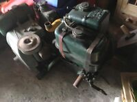 LISTER DURSLEY BOAT DIESEL ENGINE,