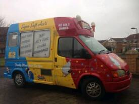 Ice Cream Van - Ford transit with Carpigiani Machine