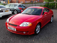 HYUNDAI COUPE 1.6 S 3 DR COUPE RED EXTRAS SERVICE HISTORY LONG MOT 2KEYS WARRANTED LOW MILEAGE