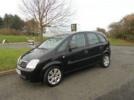 VAUXHALL MERIVA 1.7 CDTI DIESEL LIFE MPV BLACK NEW SHAPE 2005 BARGAIN ONLY £795 *LOOK* PX/DELIVERY