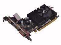 amd Radeon R7 240 Low Profile 2GB GDDR3 like new gpu