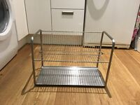 Very smart Large stainless steel rust free dish drainer