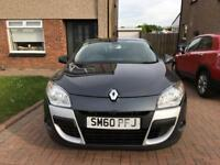 2011 RENAULT MEGANE DYNAMIQUE TTOM 1.6 VVT COUPE. BLUETOOTH, 6 SPEED, 1 OWNER, FSH, LOW MILEAGE