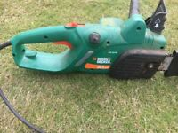 NOW SOLD!!!! - Black and Decker Gk1640 Chainsaw - 40cm Bar Complete With Cable
