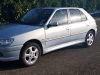 2001 Peugeot 306 meridian 1.6 - only 80000 miles with history