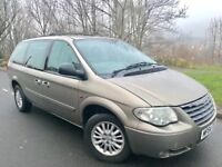 2004 54 CHRYSLER GRAND VOYAGER LX 2.8 CRD AUTOMATIC # 7 SEATER MPV# LEATHER# DVD # SLIDING DOORS