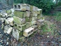 Around 50 used builders blocks