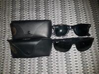 CHRISTMAS SALE! (NEW) Authentic Rayban Wayfarer 2140 50mm/Polarized 4147 60mm Sunglasses - 2 For £75