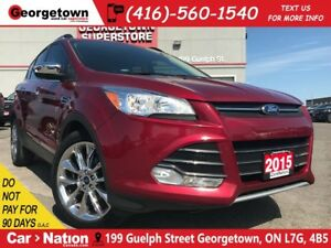 2015 Ford Escape SE NAVI PANO ROOF| B/U CAM| CHROME WHEELS
