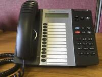 12 Mitel 5312 IP Phones. £15 Each or all 12 for £100.