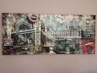Large Canvas Wall Art - London Scenes