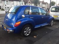 Crysler Pt cruiser limited, AUTOMATIC, low millage long mot taxed