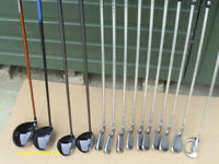MENS PING RIGHT HAND GOLF CLUBS FULL SET WITH BAG/TROLLEY