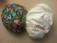 Two kids bean bag chairs for sale!