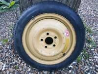 "JDM Space Saver Spare Wheel 5x114.3 - T135 80D 15"" - Honda Prelude/Civic/Accord"