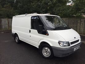 ford transit 2.0 diesel panel van 2006 mot 1 year 1 owner regular services