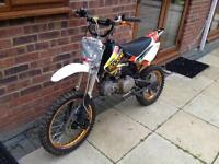 Wpb 140 z40 pit bike/Big wheels like dirtbike/ stomp racing / not m2r, demon X