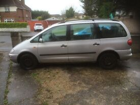 Seat Alhambra 1.9dti 1999 few teething problems easy sorted £250