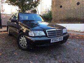1998 Mercedes C200 Elegance. Auto. 1 Owner. FSH.
