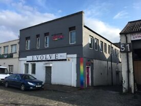 Industrial Workshop premises with office accommodation, good storage and delivery access