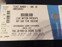 Hot Dub Time Machine - 4 tickets Edinburgh 18/8