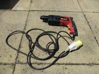 SDS drill 110v