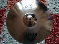 """Sabian AAX Metal Crash Cymbal 18"""""""