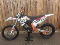 KTM EXC 125 NOT SX 125