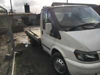 ford transit recovery truck mk6 3.5 tonne 2001 xplate