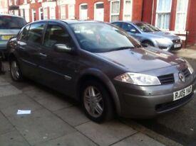 I sell my car renault megane £ 400 NO MOT
