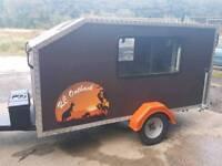 Mini camper / sleeping pod / teardrop / squaredrop camper traimer