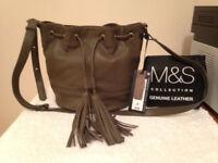 M&S Collection Tassle Duffle Bag