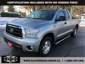 2010 Toyota Tundra 5.7L DOUBLECAB! TRD! LEATHER! - 4X4