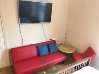 FULLY FURNISHED THREE BEDROOM FLAT IN WOLVERTON. ALL BILLS AND INTERNET INCLUDED.